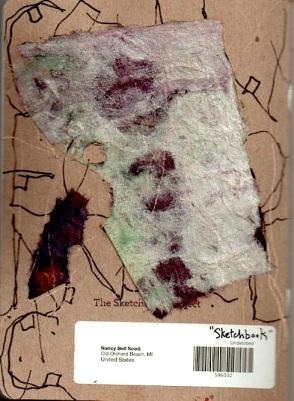 Sketchbook Project cover (back)