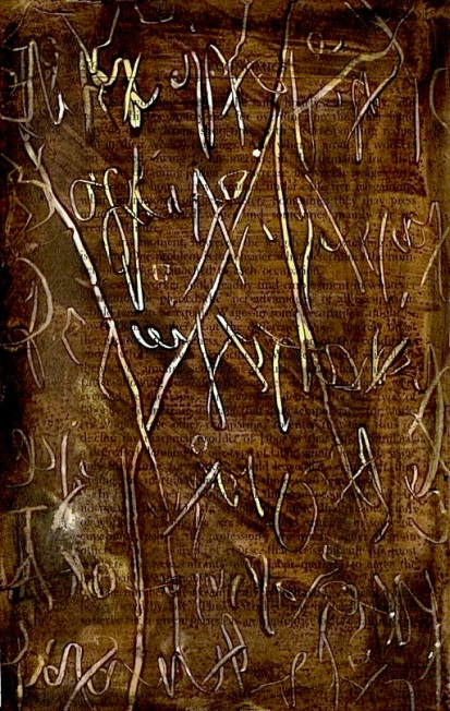 an asemic page