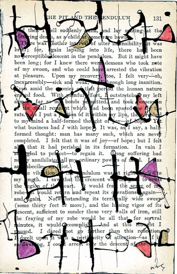 Nancy Bell Scott. asemic writing, page 131