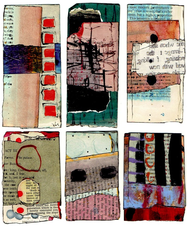 Nancy Bell Scott. 3-scrap collages 2.