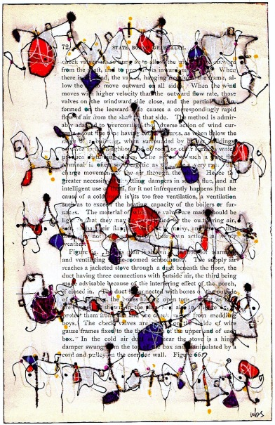 Nancy Bell Scott. asemic writing, page 72