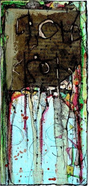 Nancy Bell Scott. Reflection That Forgot to Happen