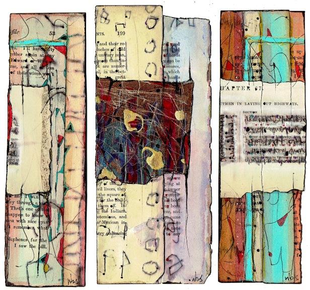 Nancy Bell Scott. triptych